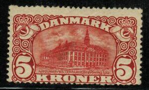 Denmark #82 1912 MLH OG CV $500.00
