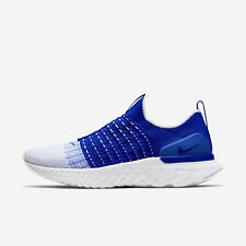 Nike React Phantom Run Flyknit 2 CJ0277-400 Racer Blue White Men's Running Shoes