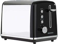 Daewoo SDA1583, Black 2 Slice Toaster
