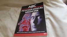 ABC OF PSYCHOLOGICAL MEDICINE, BMJ BOOKS