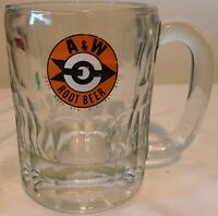 1961 8 oz A & W Root Beer Glass Mug