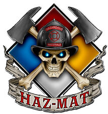 HAZ - MAT Metal Sign - Hand Made in the USA with American Steel