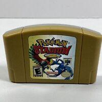 Pokemon Stadium 2 (Nintendo 64, 2001) Tested, Authentic, Works Great!