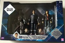 Doctor Who Actin Figures Pack 10th DOCTOR, SARAH JANE SMITH, 2 ADIPOSE, CYBERMAN