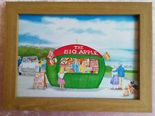 The Big Apple Mumbles, Swansea - Watercolour Painting - Tony Paultyn
