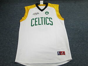 NEW MAJESTIC NBA FINALS BOSTON CELTICS KEVIN GARNETT JERSEY SIZE YOUTH L