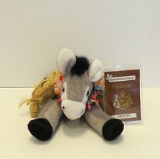 HAWAII Hawaiian Collectible Passport KONA COFFEE DONKEY Beanbag Plush