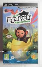 Incomplet jeu EYEPET ADVENTURES sur sony PSP en francais enfant spiel game gioco