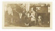 Ca. 1920's CHRISTMAS PHOTO TOYS: TRAIN CAR, GERMAN MAN TIN FIGURE, DOLL