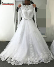 Hot New white/ivory mermaid wedding dress custom size 2-4-6-8-10-18-20-22 +