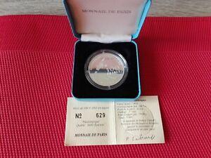 Coffret 100 Francs argent 1992 monnaie de Paris