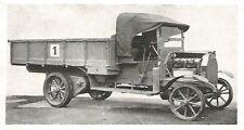 D0717 Autocarro SPA tipo 9C con motore Bagnulo- Pubblicità d'epoca - 1929 old ad