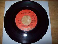 """ORIGINAL CAPITOL George Harrison 1976 My Sweet Lord/Isn't It A Pity 7"""" NEAR MINT"""