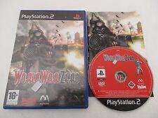 WORLD WAR ZER IRONSTORM - SONY PLAYSTATION 2 PS2 PAL FR COMPLET