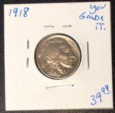 1918 Buffalo Nickel