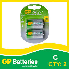 GP RECYKO + NIMH Batteria C carta di batterie ricaricabili [2]