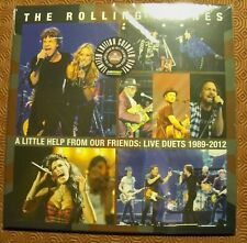 """ROLLING STONES """"A LITTLE HELP FROM OUR FRIENDS LIVE DUETS 1989-2012"""" COLOURED LP"""