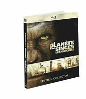Blu Ray + DVD : La planète des singes Les origines - Ed Digibook - NEUF