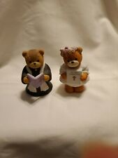 Lucy & Me Bear Priest & My holy communion girl Rigg Enesco Figurine