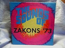 1973 ZAKONS '73 The Sounds Of.golden gate GG 140 LP,gerry irwin,babe krakowski