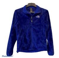 The North Face Osito Fleece Jacket Blue Women's Small Full Zip