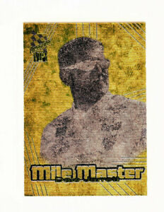 Dale Jarrett 2001 Press Pass VIP Mile Masters Precious Metals Gold Foil Insert