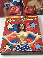 Wonder Woman - The Complete First Second & Third Season 1 2 3  DVD Lynda CARTER