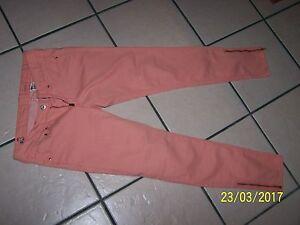 "& denim brand peach low waist ankle pants 26"" waist ankle zippers spot left leg"