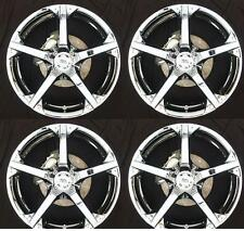 "BK300 17"" Chrome Alloy Wheels & Tyres 4x98 x4 7x17 Peugeot Bipper Tepee"