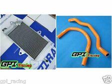 40mm aluminum radiator Yamaha banshee YFZ350 YFZ 350 87-07 & orang silicone hose