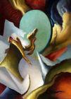 Framed canvas art print giclee fantasy