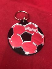 Personalized Soccer Ball Key Chain Custom Name Engraved Free keychain keyring