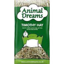 Animal Dreams Fresh Timothy Hay 1kg Compressed High Fibre Bedding Food Rabbit