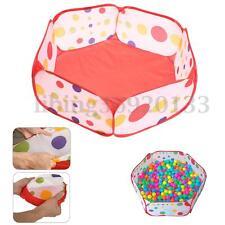 Foldable Play Toy Tent Baby Kid Children Ocean Ball Pit Pool Outdoor Indoor 90cm