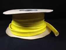5m x 16mm High Temperature Glassfibre Sleeving Insulation Heat Resistant Yellow