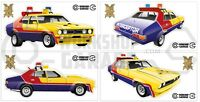 Mad Max XB Interceptor movie car  - XX Large Sticker Set- 4 Large Stickers