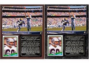 Steve Largent #80 Seattle Seahawks Legend Photo Card Plaque Hall of Fame