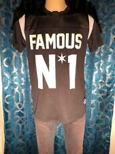 Famous Stars And Straps Jersey Short Sleeve Shirt M Black