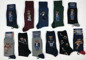 Polo Ralph Lauren Bear Socks Martini Preppy St Andrew's VARIOUS STYLES & SIZES