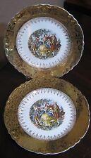 W.S. George Radisson ~ GEO12 Pattern DINNER PLATE ~ Set of 2