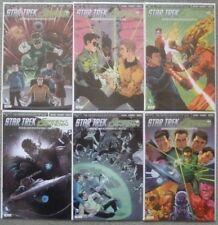 "STAR TREK/GREEN LANTERN ""SPECTRUM WAR"" #1-6 SET..DC/IDW 2015 1ST PRINT..VFN+"
