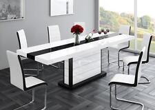 Esstisch Säulentisch Konferenztisch HIGH GLOSS Acryllack ausziehbar bis 260cm