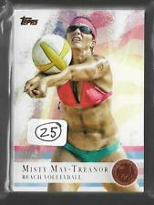 (25) 2012 TOPPS OLYMPIC MISTY MAY-TREANOR BRONZE BEACH VOLLEYBALL CARD #40 LOT