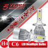 2xCREE H4 1850W LED Headlight Kit Light Bulbs Hi/Lo Beam 6000K 9003 HB2 277500LM