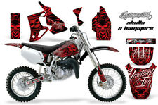 Dirt Bike Graphics Kit MX Decal Wrap For Honda CR80 CR 80 1996-2002 HISH RED