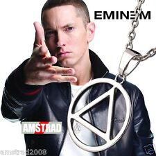 COLLANA EMINEM TRIANGOLO RAP HIP HOP EMINEM RAPPER MUSIC TOP 100 DA AMSTRAD2008
