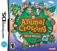 Animal Crossing Wild World DS Game DSi 3DS 3DSXL 2DS PAL FORMAT + FREE Accessory