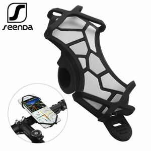 Universal Bicycle Phone Holder For iPhone X Samsung Silicone Mount Phone Stand