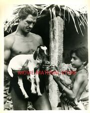 "Jock Mahoney Tarzan Goes To India Original 8x10"" Photo #M2529"