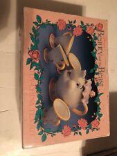 Disney's Beauty and the Beast Toy China Tea Set